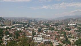 Vista del día Tbilisi Fotografía de archivo libre de regalías