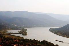 Vista del Danubio Fotografia Stock Libera da Diritti