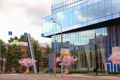 Vista del ` de centro comercial de Kuntsevo del ` Fotografía de archivo