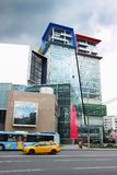 Vista del ` de centro comercial de Kuntsevo del ` Imagen de archivo libre de regalías