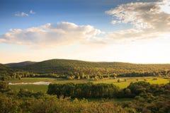 Vista del ² de Doberdà del lago Fotos de archivo