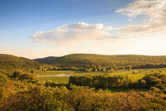 Vista del ² de Doberdà del lago Imagenes de archivo