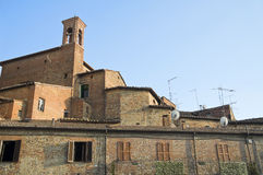 Vista del della Pieve di Citta. L'Umbria. Immagine Stock