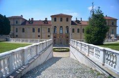 Vista del della Regina (la villa della villa della regina) a Torino, Italia Immagini Stock Libere da Diritti