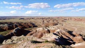 Vista del deserto immagini stock