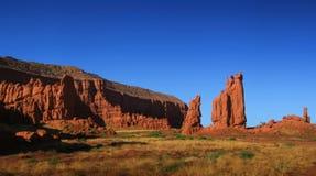 Vista del deserto Fotografia Stock Libera da Diritti