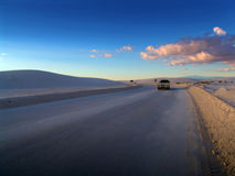 Vista del deserto fotografia stock
