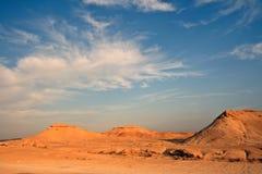 Vista del deserto Fotografie Stock