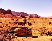 Vista del deserto dall'Utah, U.S.A. Immagine Stock Libera da Diritti