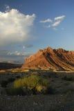 Vista del deserto nello Swell di San Rafael nell'Utah Immagini Stock