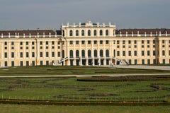 Vista del dettaglio del palazzo di Schonbrunn, Vienna Immagini Stock