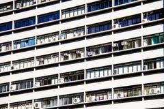 Vista del dettaglio dell'edificio per uffici Fotografia Stock Libera da Diritti