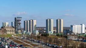 Vista del distretto di Walenty Rozdzienski Immagini Stock Libere da Diritti
