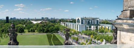 Vista del distrito central de Berlín imagen de archivo