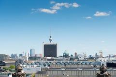 Vista del distrito central de Berlín fotos de archivo libres de regalías
