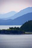 Vista del estrecho helado, Alaska Fotografía de archivo