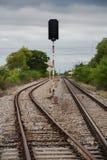 Vista del ferrocarril Foto de archivo libre de regalías