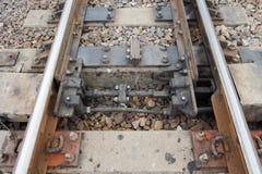 Vista del ferrocarril Imágenes de archivo libres de regalías