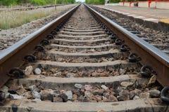 Vista del ferrocarril Foto de archivo