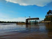 Vista del fiume Immagini Stock