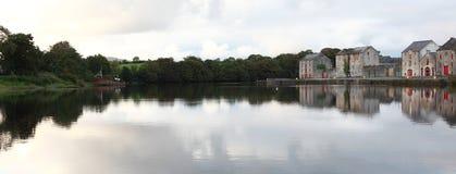 Vista del fiume. Immagine Stock