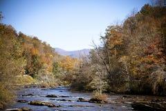 Vista del fiume Immagini Stock Libere da Diritti