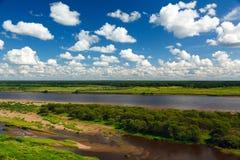 Vista del fiume Immagine Stock Libera da Diritti