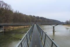Vista del fiume Fotografia Stock Libera da Diritti