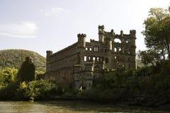 Vista del fiume del castello di Bannerman Fotografia Stock