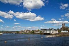 Vista del fiume del Limerick Fotografie Stock