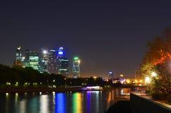 Vista del fiume di Mosca Immagini Stock Libere da Diritti
