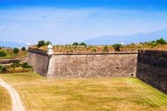 Vista del fuerte abandonado Fotos de archivo