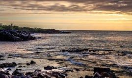 Vista del Galapagos Fotografia Stock