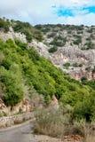 Vista del Galilee Fotografia Stock