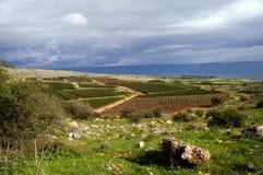 Vista del Galilee Fotografie Stock