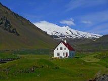 Vista del ghiacciaio Fotografia Stock Libera da Diritti