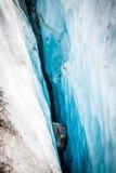 Vista del ghiacciaio di Argentiere, Chamonix-Mont-Blanc, Mont Blanc Massif, alpi, Fran Fotografia Stock