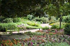 Vista del giardino fotografia stock