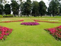 Vista del giardino Fotografia Stock Libera da Diritti