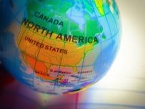 Vista del globo Imagen de archivo libre de regalías