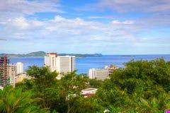 Vista del golfo de Tailandia Imágenes de archivo libres de regalías