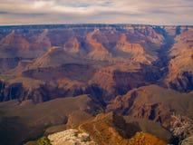 Vista del grande canyon Fotografia Stock