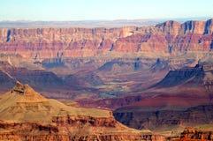 Vista del grande canyon fotografia stock libera da diritti