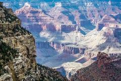 Vista del grande canyon immagini stock