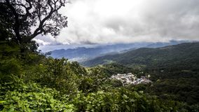 Vista del Hmong Fotografie Stock Libere da Diritti