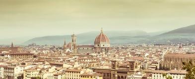 Horizonte de Firenze Foto de archivo libre de regalías