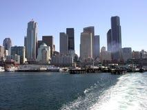 Vista del horizonte de Seattle foto de archivo libre de regalías