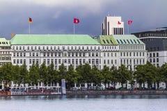 Vista del hotel de Atlantik Imagen de archivo libre de regalías