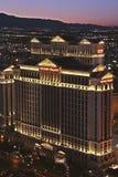 Vista del hotel del Caesars Palace Fotografía de archivo libre de regalías
