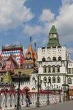 Vista del Izmailovo el Kremlin en Moscú, Rusia imagen de archivo